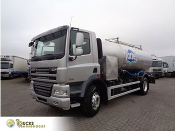 DAF CF 85.460 Euro 5 + Intarder + 2 Comp + 11000 Liter + Milk and water - cisternové vozidlo
