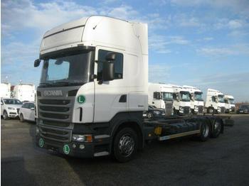 Kontejnérový podvozek/ výměnná nástavba  Scania - R 440 Jumbo BDF EEV