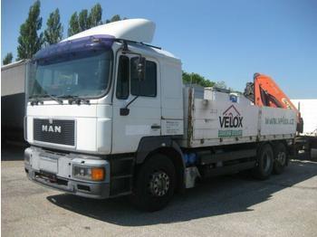 Valníkový/ plošinový nákladný automobil  MAN - 26.403 FNLLW