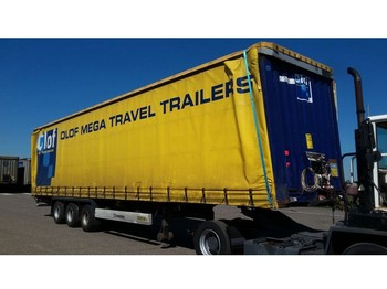 Náves plachtové Krone 2013 XL MEGA CURTAINSIDER