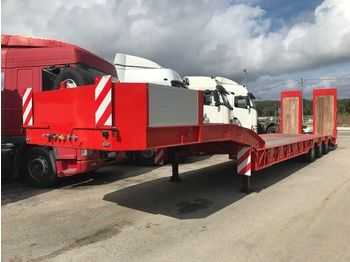 New /ARB Low Loader for heavy machinery/ - náves podvozek