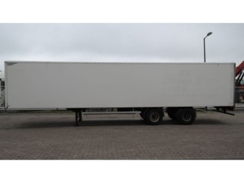 HTF 2 AXLE CLOSED BOX TRAILER - náves skriňové