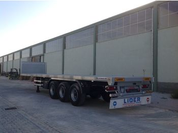 Plošinový/ valníkový náves LIDER 2020 YEAR NEW MODELS containeer flatbes semi TRAILER FOR SALE