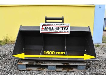 BALAVTO Excavator ditch cleaning / slope bucket S61600 mm - lopata pre rýpadlo